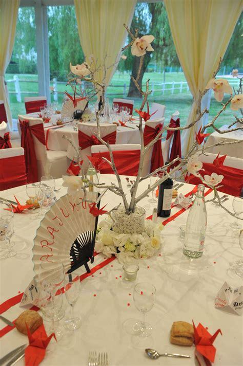theme japon mariage pl decoration table  image