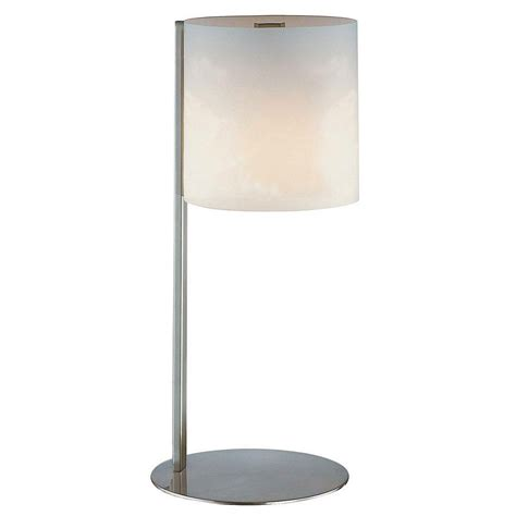 art glass table ls velia table l with frosted glass shade by lite source