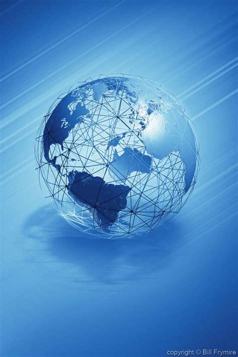 blue wire globe