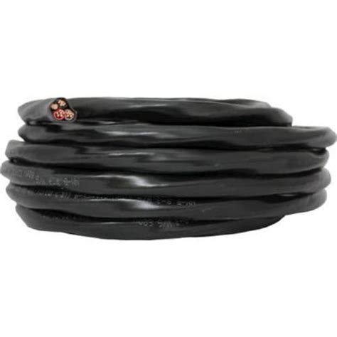 southwire 50 ft 8 3 black stranded cu simpull nm b wire