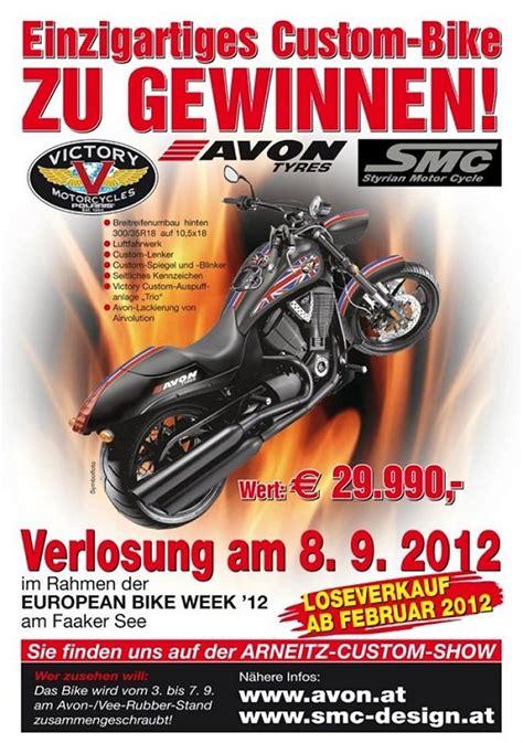 Victory Motorrad Treffen by Victory Motorcyle Custombike In Faak 2012 Gewinnen