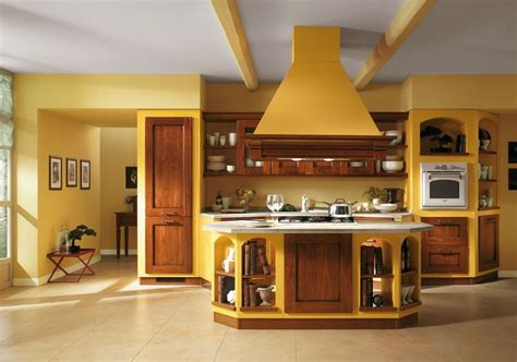 yellow kitchen color schemes italian kitchen color schemes for open interior design