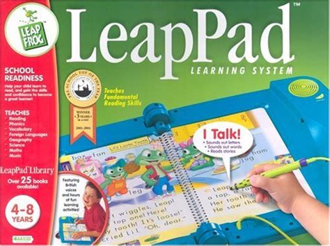 Leapfrog Leappad Learning Center Interactive Book Cartridge Phonic image gallery leappad original