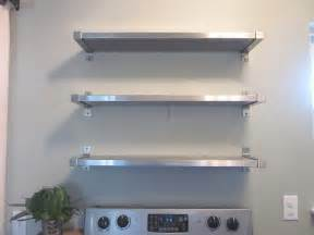 Kitchen shelves wall mounted kitchen ideas