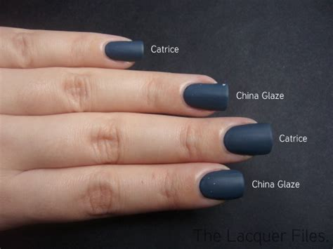 china glaze matte magic the lacquer files catrice hip wear blue