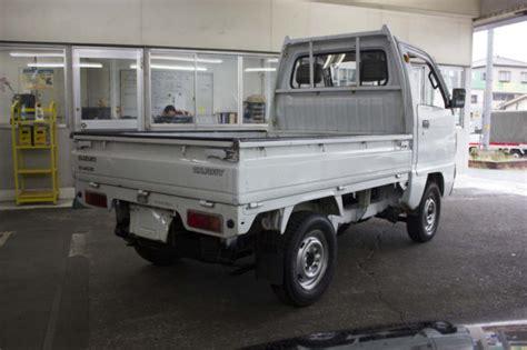 Kei Truck Wheelbase 1990 Suzuki Carry 5 Speed 4wd Jdm Kei Truck Free
