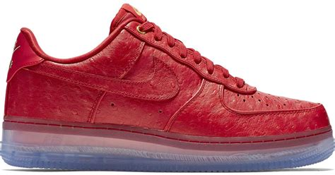 nike air force one comfort nike air force 1 comfort lux low in red for men lyst