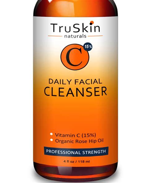 Truskin Naturals Best Vitamin C Daily Cleanser Original truskin naturals vitamin c serum for