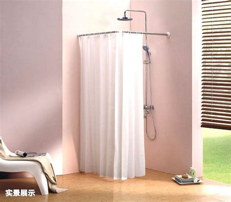 bathroom curtain rods india l shaped shower curtain rod india curtain menzilperde net