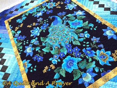 Peacock Quilts a quilt and a prayer quilting the peacock