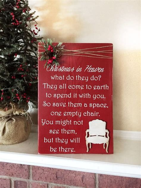 christmas  heaven poem  chair  whisperwillowdesigns christmas  heaven christmas