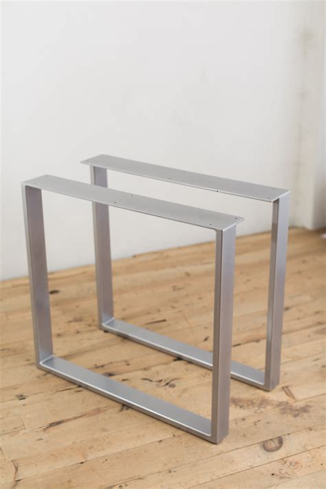 diy u shaped table legs powder coated steel u shape table legs factor fabrication
