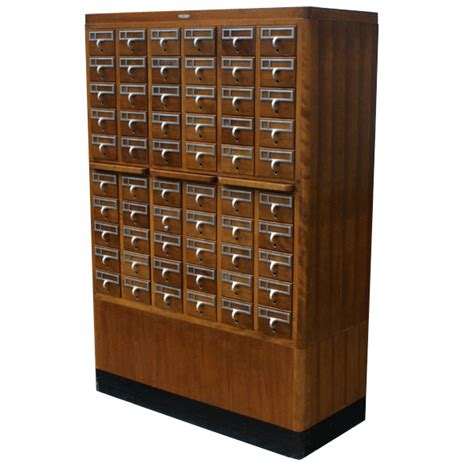 Index Card File Cabinet Midcentury Retro Style Modern Architectural Vintage Furniture From Metroretro And Mcm Consignment