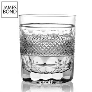 james bond glass luxury english crystal barware cumbria crystal
