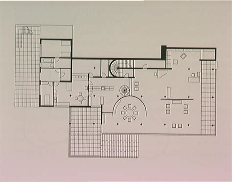mies van der rohe farnsworth house plan architecture of our century