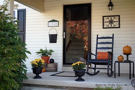 how to decorate front porch turn fall decorating ideas into halloween decor on your