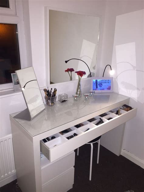 Ikea Vanity Table With Mirror And Bench Best 25 Ikea Dressing Table Ideas On Dressing Table Inspiration Dressing Tables