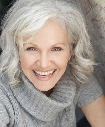 looking with grey hair 7 popular medium haircut styles for women over 50