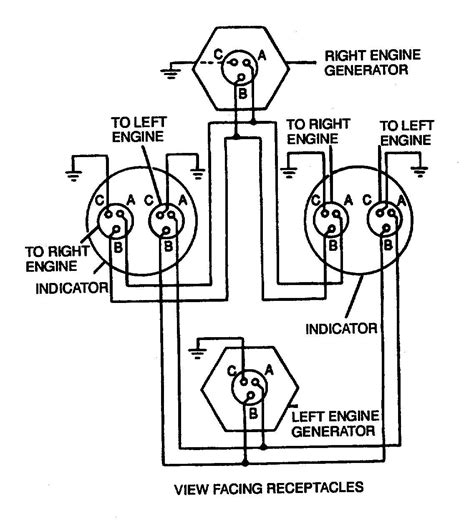 12v wiring diagram for tach figure 4 17 dual synchronous rotor tachometer wiring diagram