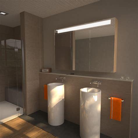 badezimmer spiegelschrank beleuchtet big