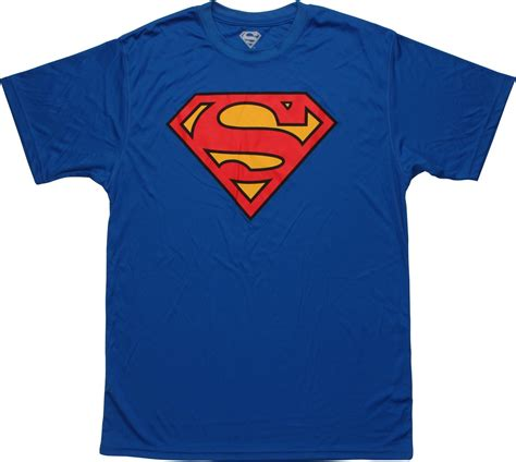 Superman Of Steel Logo Kaos Family T Shirt superman classic shield logo polyester t shirt