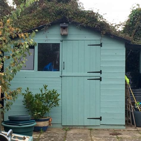 Coloured Garden Sheds by Re V Your Shed A Really Easy Guide The