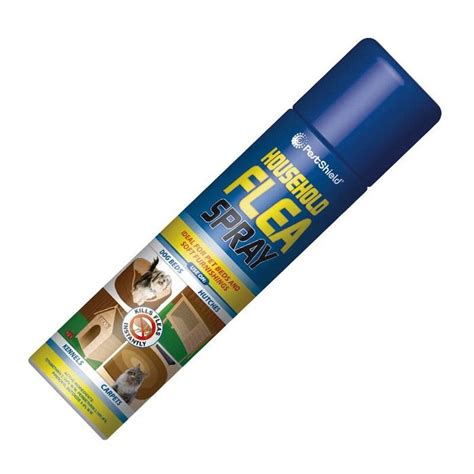 pestshield household flea killer spray aerosol dog cat pet