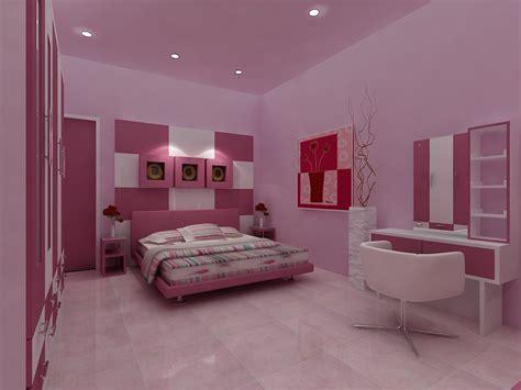inspirasi desain interior kamar tidur simpel modern