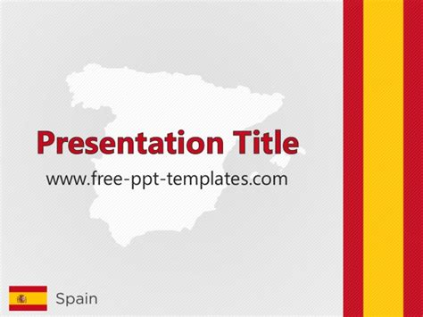 spain ppt template
