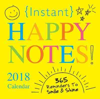 libro 2018 instant happy notes 2018 instant happy notes calendar qi books