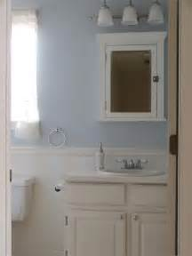 Bathroom with beadboard and board and batten wainscot
