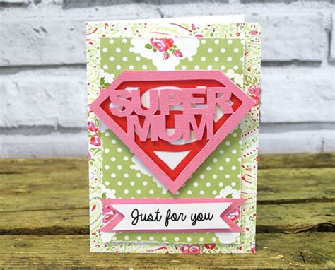handmade mothers day card templates free diy s day card with coo the craft