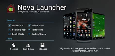 android themes version 2 3 6 nova launcher 3 2 brings a plethora of android lollipop