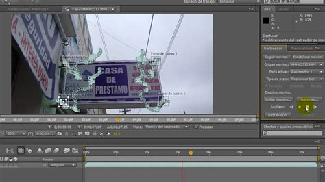 tutorial after effects track motion tutorial motion tracking after effects cs4 en espa 241 ol