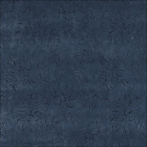 blue floral upholstery fabric 54 wide navy blue floral microfiber upholstery fabric by