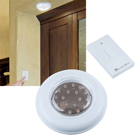 home lighting control everyday home cordless ceiling wall light with remote