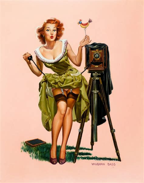 Retro Le by Vintage Pin Up By Vaughan Bass Pin Up And