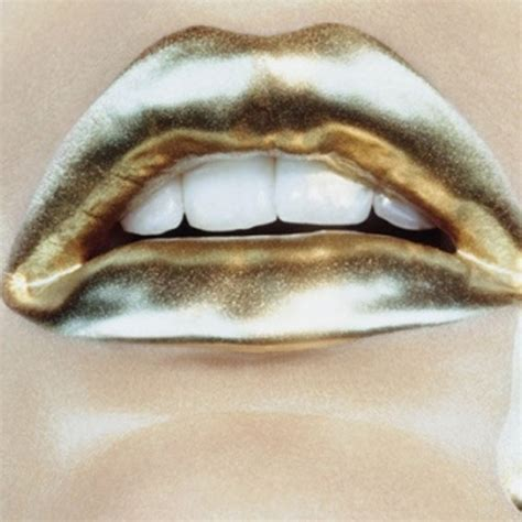 Metalic Silver Dan Gold Powder gold lipstick metallic image 246397 on