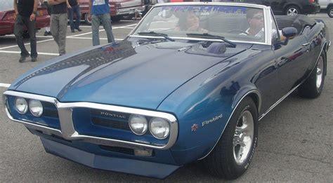 Pontiac Firebird 67 by File 67 Pontiac Firebird Convertible Les Chauds