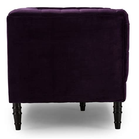 purple tufted sofa purple velvet tufted sofa modern furniture brickell