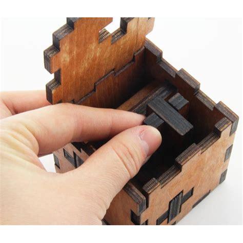 3d wood puzzle model cube jakartanotebook