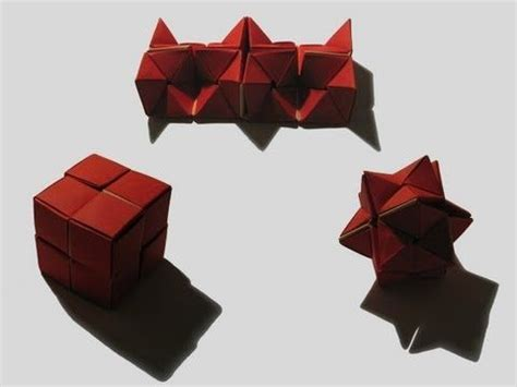 Modular Paper Folding - 91 best images about kaleidocycle flexagon on