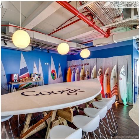 google office interior design a design award and competition google office tel aviv