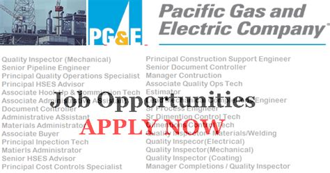 Mba 601 Discussion And Gas Companies by Pacific Gas Electric Company Needs Staff