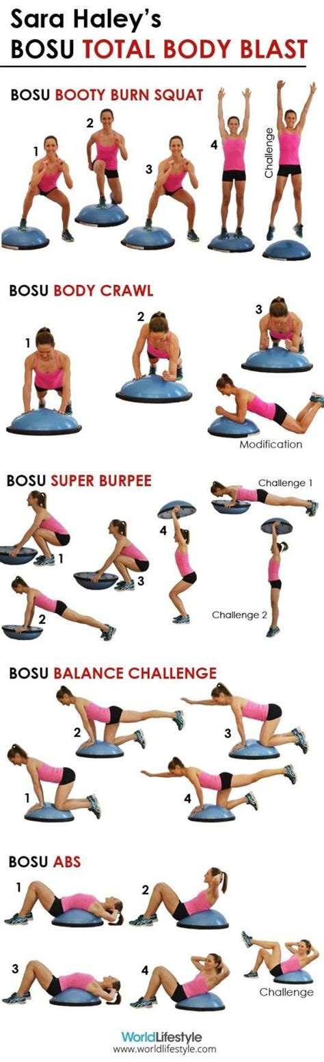 7 Great Bosu Exercises by Best 25 Bosu Ideas On Bosu Workout