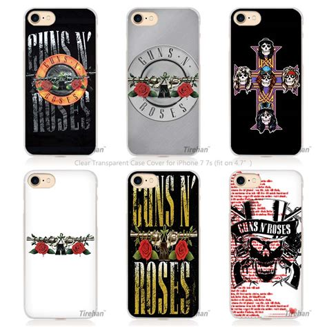 Guns N Roses Iphone Semua Hp 1 sale guns n roses transparent phone cover coque for apple iphone 4 4s 5 5s se 5c 6