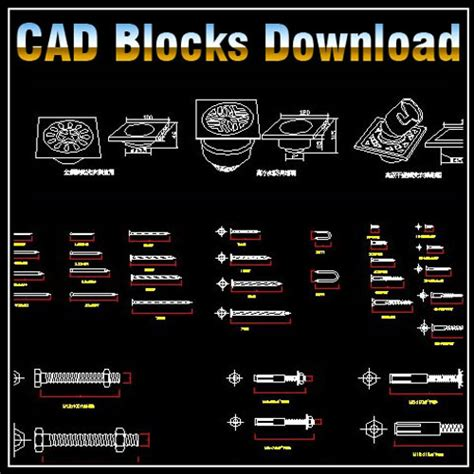 cabinet hardware cad blocks hardware blocks bundle cad files dwg files plans and