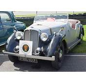 1947 Rover 4 Place Tourer  Unpainted Front Angle