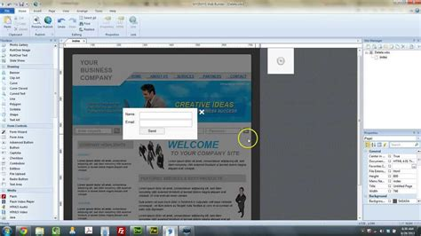 Tutorial Web Builder 9 | wysiwyg web builder 9 tutorial using timed event youtube