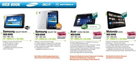 Tablet Apple Malaysia 2nd honeycomb tablet in malaysia acer iconia tab a500 is
